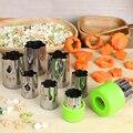 8 шт./компл., резак из нержавеющей стали в форме фруктов и цветов, резак для салата, искусственные кухонные инструменты, печенья, помадки