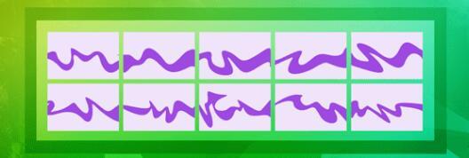 ps素材-十种彩带、丝带图形Photoshop自定义形状素材文件下载