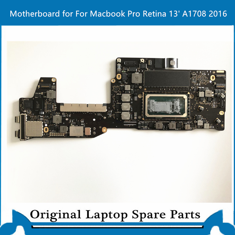 Logic Board For Macbook Pro Retina13'A1708 Motherboard 820-00875-A Main Board I5 8G 2.0ghz 2016 Tested For Exchange