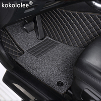 Custom car floor mats for Ford all model focus explorer mondeo fiesta c max Mustang ecosport Everest s max edge Tourneo kuga