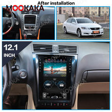 64GB Tesla ekran için 2004-2012 Lexus GS GS300 GS350 GS450 GS460 Android araba oto ses Stereo radyo kaydedici GPS Navi kafa ünitesi