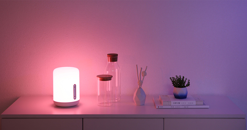 New Version Xiaomi Mijia Bedside Lamp 2 Smart Light voice control touch switch smart APP color adjustment For Apple Homekit Siri (4)