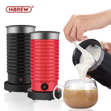 Hibrew leite frother foarmer frio/quente latte cappuccino chocolate totalmente automático leite mais quente toque fresco m2
