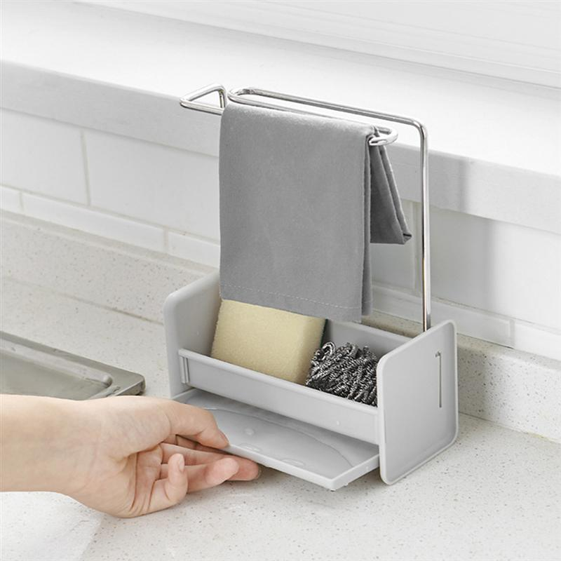 Kitchen Dish Cloth Cleaning Towel Stand