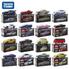 7CM Takara Tomy Car Lamborghini Cadillac Honda Volkswagen Subaru Matchbox Cars Juguetes De Metal Kids Toys Christmas Gift