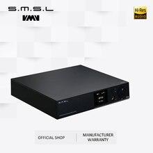 SMSL A8 125Wx2 AK4490 768khz DSD512 XMOS HIFI ICEpower Module Audio Digital Power Amplifier/DAC/Headphone Amp Latest Solution цена 2017