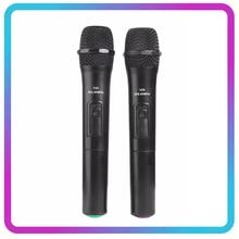 Draadloze Microfoon Megafoon Handheld Microfoon Met Usb Ontvanger Voor Karaoke Toespraak Luidspreker Audio Microfoons Mic Covers Kit