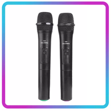 Kablosuz mikrofon megafon el mikrofon için USB alıcısı ile Karaoke konuşma hoparlör ses mikrofonlar Mic kapakları kiti