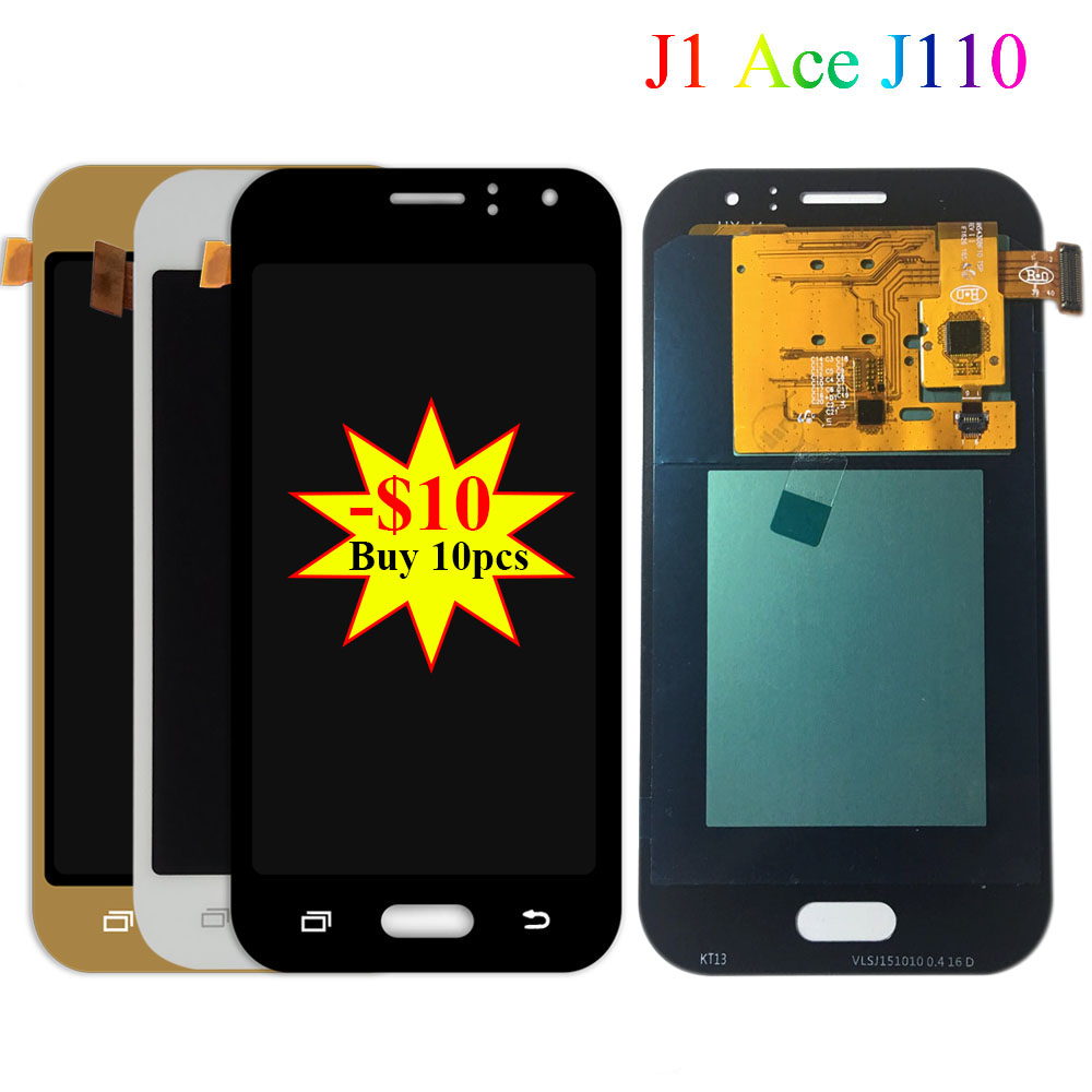 Super AMOLED LCD For <font><b>Samsung</b></font> Galaxy <font><b>J1</b></font> <font><b>Ace</b></font> J110 J110F J110H J110FM J111 J111F J111M J111FN <font><b>Display</b></font> Touch Screen Assembly Parts image