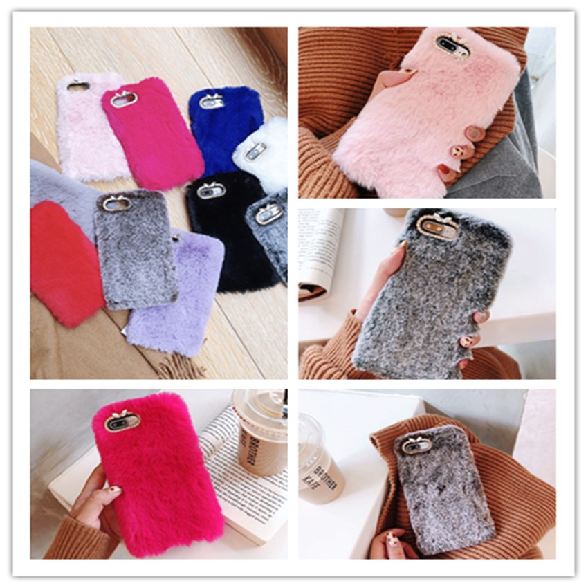 Warm Fur Cases For <font><b>NoKia</b></font> 3 2 5 6 8 7 2018 X5 X7 X6 <font><b>NoKia</b></font> 6.1 3.1 5.1 2.1 <font><b>7.1</b></font> 8.1 8 Sirocco 9 Silicone Diamond Case <font><b>Back</b></font> <font><b>Cover</b></font> image