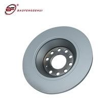 Rear brake disc rotor 4F0615601E for Audi A6 A6Q 1KD 302*12MM car brake parts rear brake disc rotor steel fits for suzuki gsf 250 n zm p np zp r nr 92 96