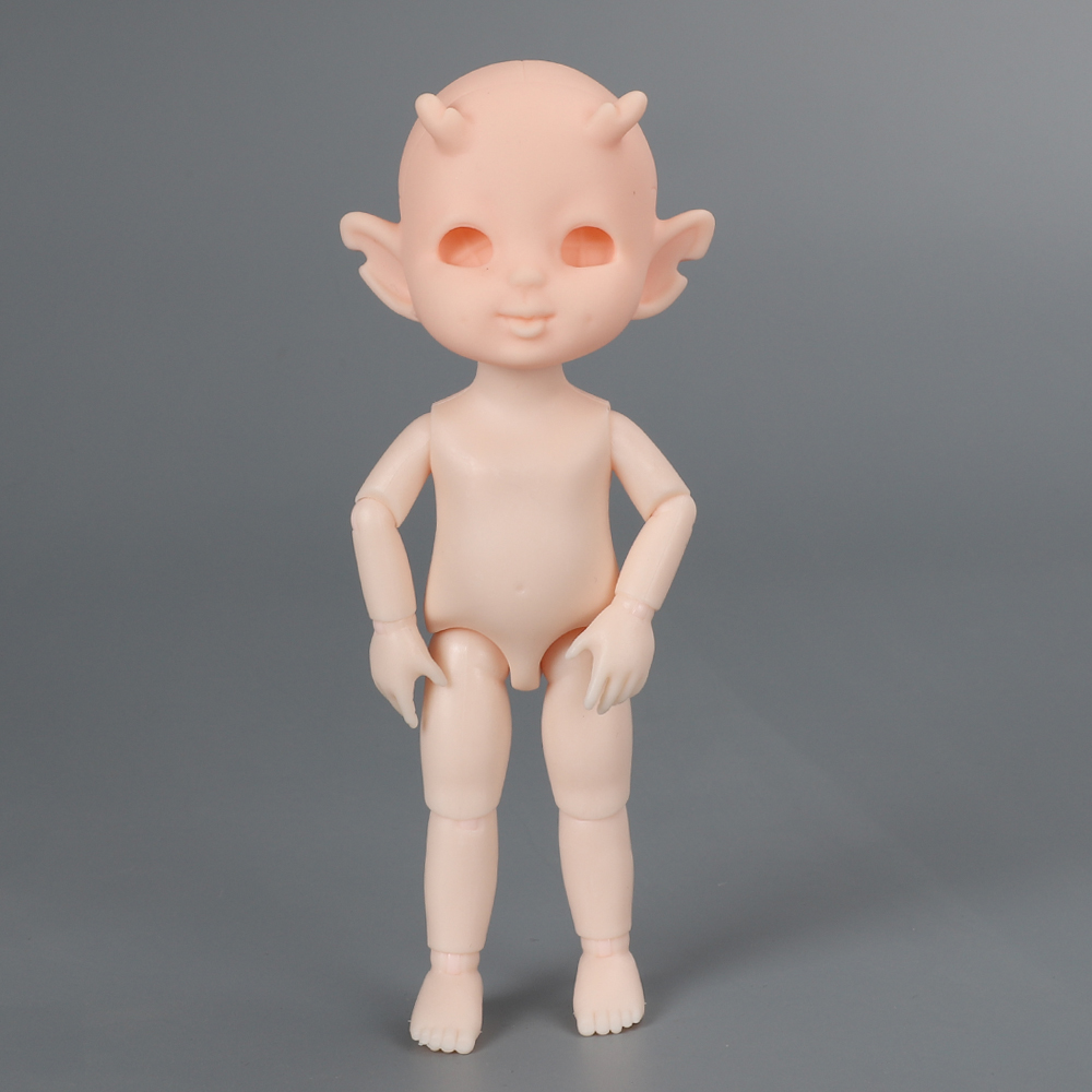 16cm BJD Elves Horned Doll 13 Joints moveable Fashion Dolls Baby nude body Withoutmakeup doll Diy Accessories Toys for Girl gift Dolls & Accessories cb5feb1b7314637725a2e7: A|B|C