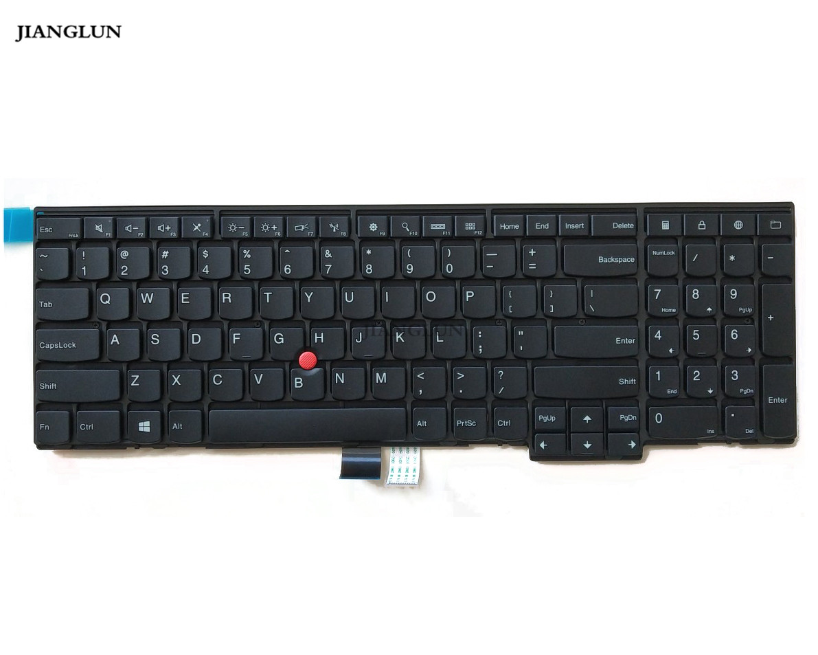 JIANGLUN Laptop Keyboard For Lenovo T540 T540P W540 E531 E540 04Y2348|Replacement Keyboards|   - title=