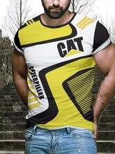 2021 nova legal t-camisa dos homens/mulheres 3d t impressão dois gato manga curta verão topos t engraçado camisa masculina XXS-6