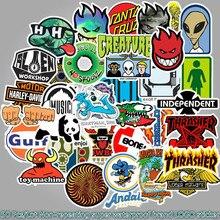 50 Pcs/Lot Naklejki Kawaii School Sticky Notes Papelaria Logo Sticker Tide Stationery Waterproof Removable TZ086G