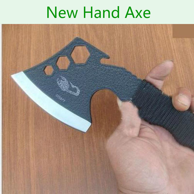Brane New Scorpion Hand Axe Portable Axe Outdoor Tactical Axe Camping Traveling Lumbering Axe Multifunction Tool Hex Wrench