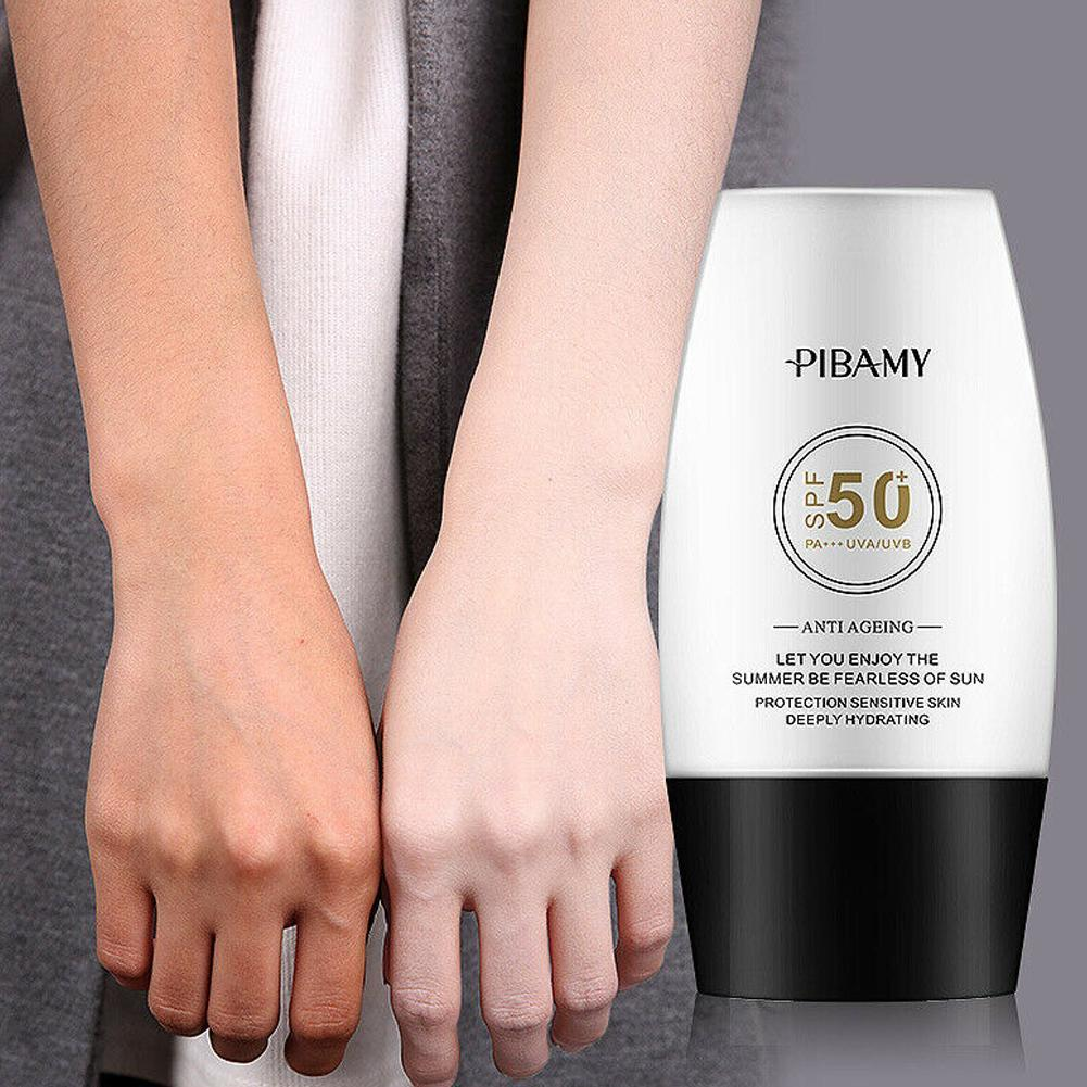 Sun Protection Sunscreen Cream Whitening Isolation Sunscreen Moisturizing Radiation UV Sun Screen Cream Body Lotion Sunbloc U9Z0