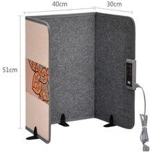 Складной вертикальный нагреватель Портативный электрический подогреватель ног углеродный кристалл нагревательная пластина домашние обогреватели