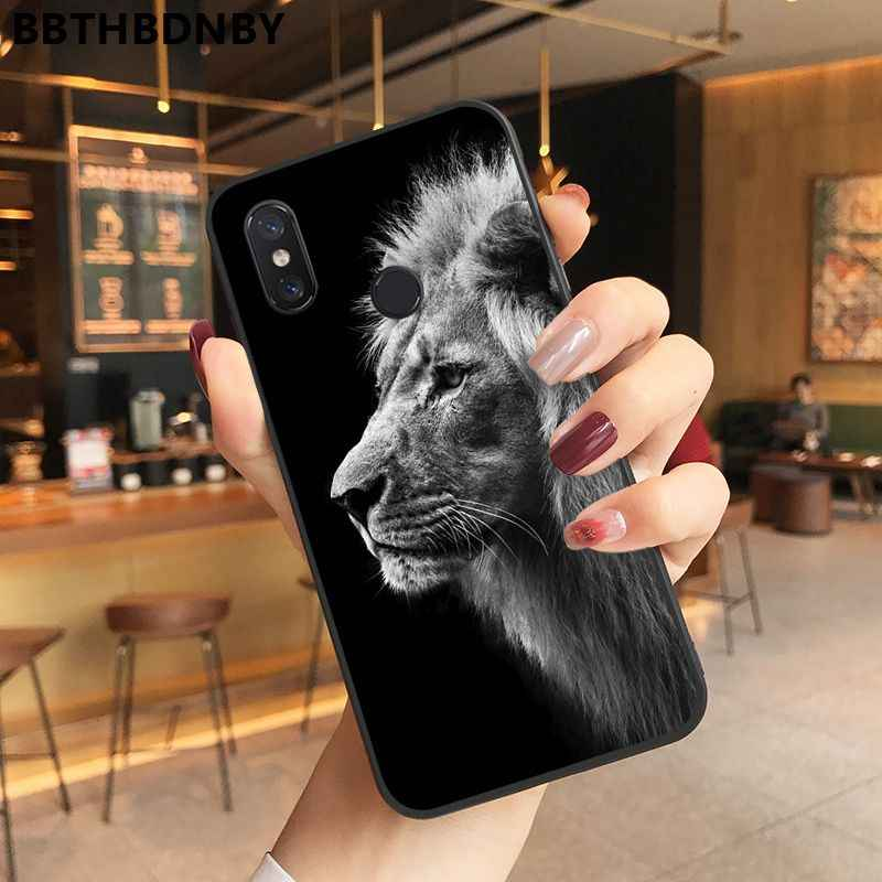 القط الأسود TPU لينة جراب هاتف جراب هاتف شاومي 8 9 se Redmi 6 6pro 6A 4X7 ملاحظة 5 7