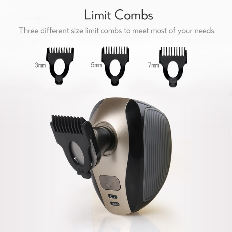 Electric Shaver 5D Floating Heads Washable Beard Trimmer Razor Multifunction Hair Clipper Rechargeable Shaving Machine 42D