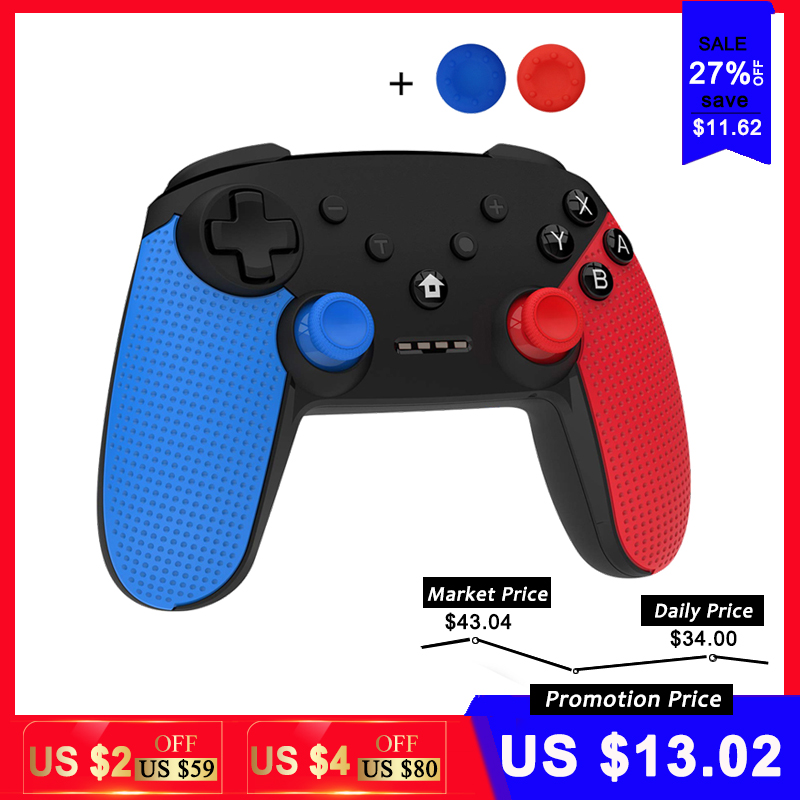 Joystick Switch-Console Controle Bluetooth Gamepad Nintend Android/pc-Accessories Wireless