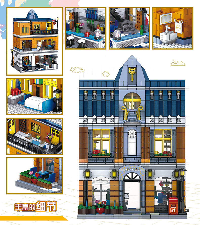 H5c8bbb3714f042dca089bb36e71b4a07W LEPIN™ Land Shop