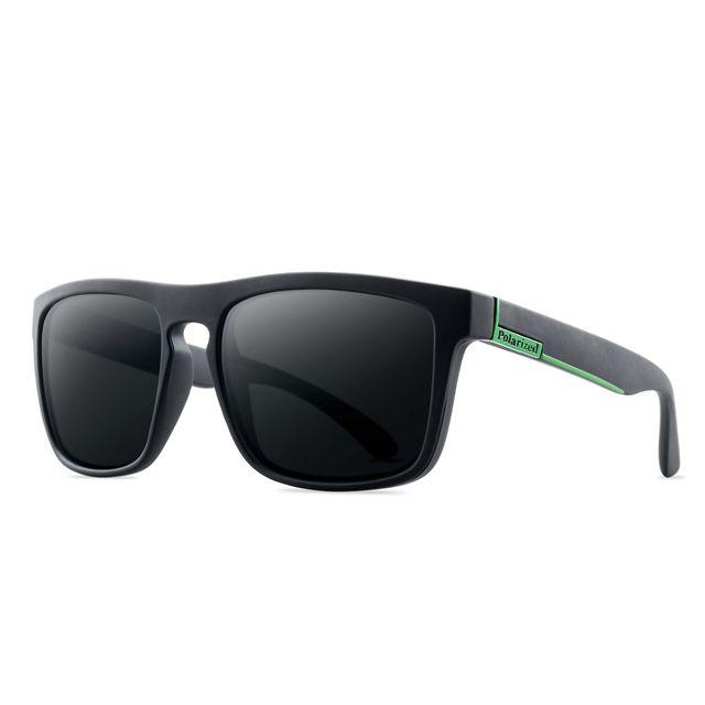 Gafas de sol polarizadas para hombre y mujer, lentes de sol masculinas para conducir, Retro, de lujo, de marca, de diseñador, UV400, 2021 5