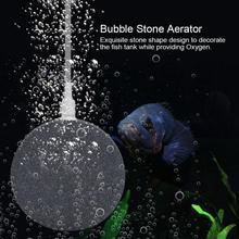 6 см/8 см аэратор из Пузырькового камня воздушный камень пузырьковый диск аквариумный насос для аквариума гидропонная кислородная пластина мини воздушный насос
