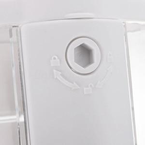 Image 5 - קיר רכוב שמפו סבון Dispenser Sanitizer אמבטיה מקלחת נוזל משאבת קרם (לבן)