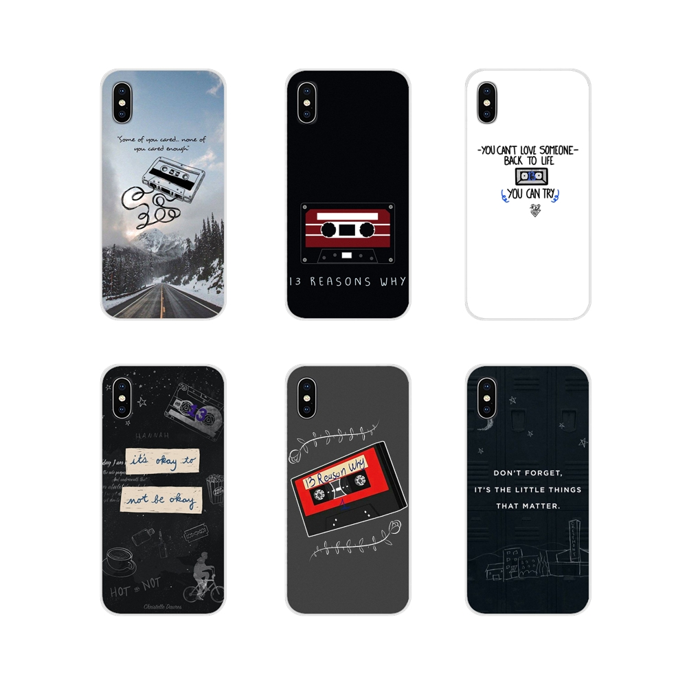 Stranger Things <font><b>13</b></font> Thirteen <font><b>Reasons</b></font> <font><b>Why</b></font> <font><b>Phone</b></font> <font><b>Cases</b></font> For Samsung Galaxy S3 S4 S5 Mini S6 S7 Edge S8 S9 S10 Lite Plus Note 4 5 8 9 image