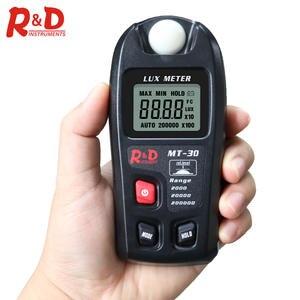 Lux-Meter Enviromental Testing D MT30 0--200 000lux Black Lux/fc NEW