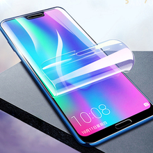 Hydrogel Film For Huawei Nova 5 5T 5i 4 4E Y6 Pro Y7 Y9 Prime P Smart 2019 Phone Protective Screen Full Front Cover Not Glass 9d glass for huawei y7 y9 2018 protective glass for huawei y9 2019 y9 prime y7 prime 2019 jkm lx1 p smart z screen cover film