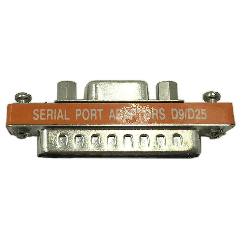 DB9 Female To DB25 Male Mini Serial Port Cable Adapter Gender Changer