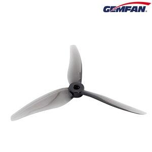 Image 5 - 24 adet/12 çift Gemfan 51466 5 inç 3 bıçak/tri blade pervane sahne CW CCW fırçasız motor FPV pervane FPV yarış drone için