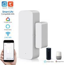Detectors Smart-Switch Windows Tuya Alexa Home-Security Google Home Door Sensor Magnetic