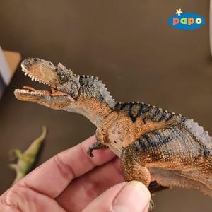 Image 4 - פאפו סימולציה דינוזאור בעלי החיים דגם Gorgosaurus ילדי צעצועים