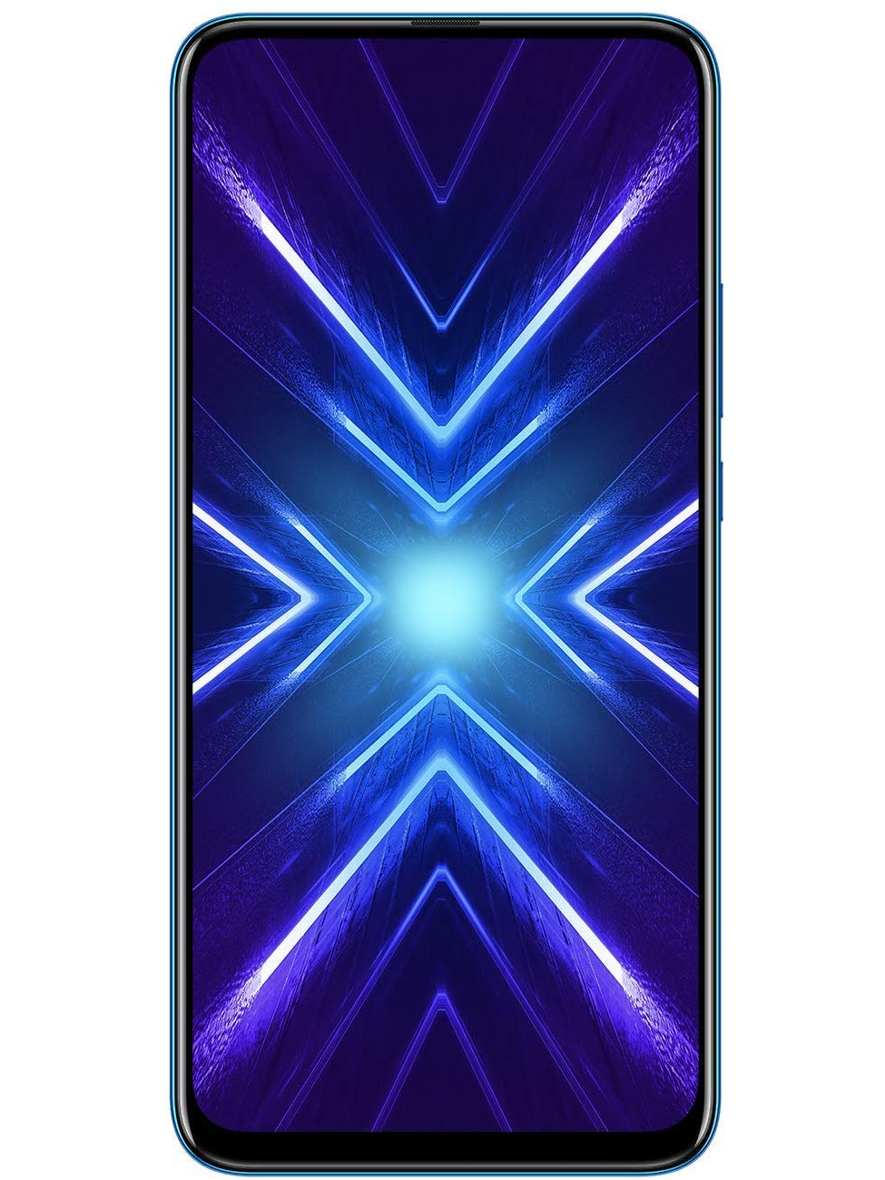 Phone Huawei Honor 9x, Blue Color (Blue), Dual Sim. 128 GB Internal Memory, 4 GB RAM Screen FullView 6,5