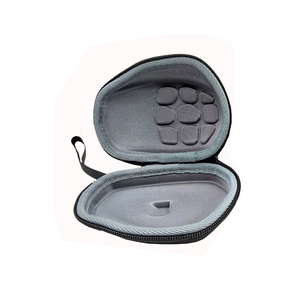 Hard Carrying Case Pouch Cover For Logitech MX Master / MX Master 2S Mouse Easy To Carry 360 Degree Zipper EVA Material