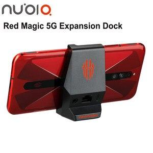 Расширительная док-станция для телефона ZTE nubia Red magic, Волшебная коробка с разъемом 3,5 мм для подключения к сети, сетевой кабель, интерфейс для ...