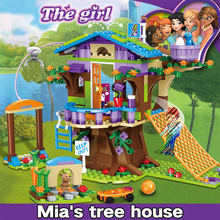 357pcs Building Blocks Toys Compatible Legoingly Friends Adventure Camp Tree House Emma Minecraftingly  Children Gifts Christmas стоимость