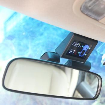 HiMISS OBD TPMS Car Tire Pressure Monitoring System 3inch LCD Display Sensor