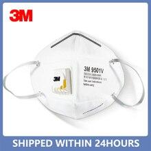 3m 9501v máscara kn95 máscara máscaras de segurança respirador máscaras de proteção máscara de boca filtro de poeira