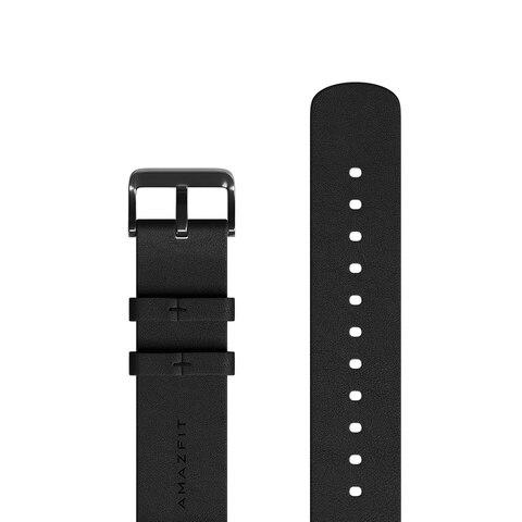 Pulseira de Relógio de Couro Original para Xiaomi Genuíno Huami Amazfit & 42mm Ritmo Stratos Bip Lite Relógio Gtr 47mm