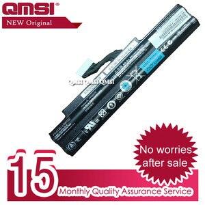 QMSI 11.1V 48WH Original FPB0278 FPB0285 built-in battery Apply to Fujitsu Lifebook 552 AH552 laptop