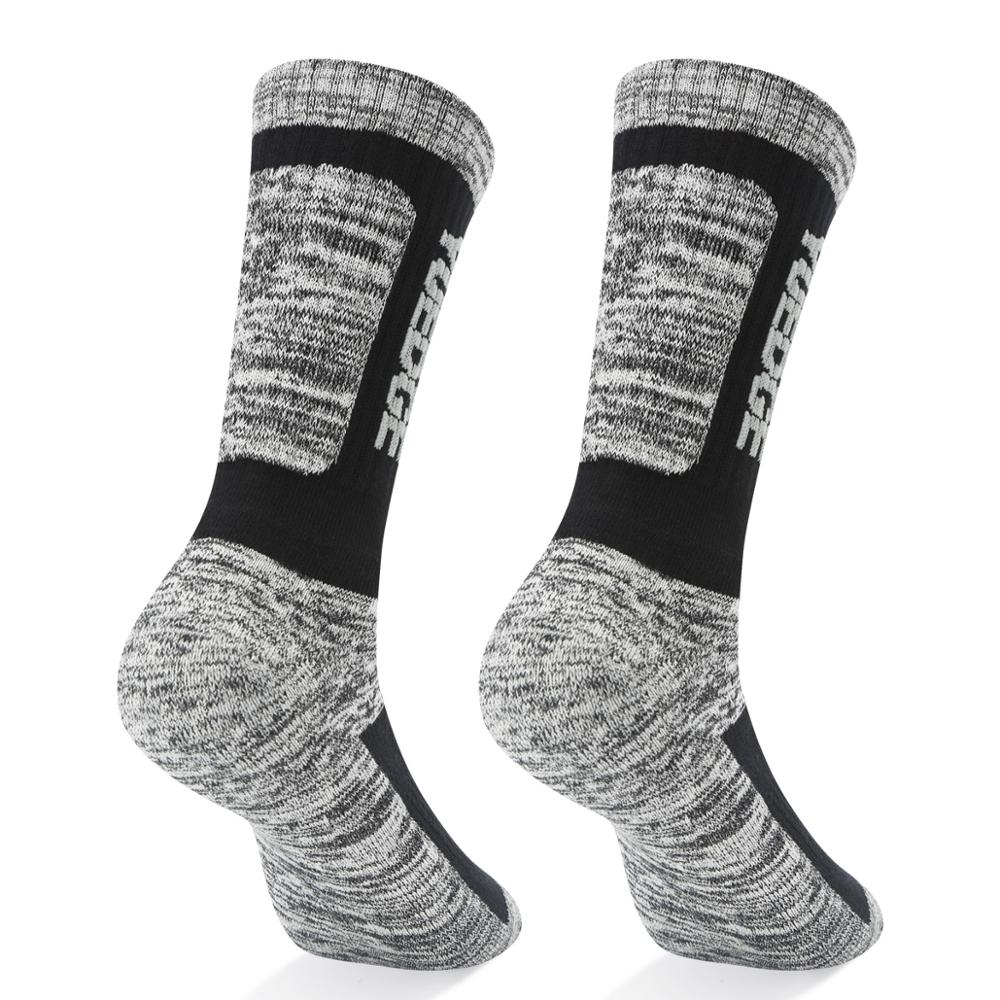 YUEDGE Womens Merino Wool Hiking Walking Trekking Socks Merino Wool Cushioned Crew Socks For Hiking Backpacking Climbing Winter
