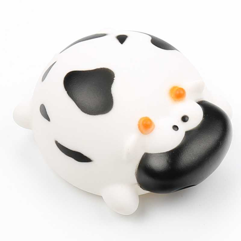 Juguete de goma inocuo para baño de juguete de baño con aerosol de agua cerdo playa estrella de mar juguete de baño de vaca de juguete para niños