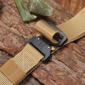 Image 3 - Mới Nylon Thắt Lưng Nam Chiến Thuật Quân Đội Dây Molle Quân Đội SWAT Chiến Đấu Thắt Lưng Gõ Tắt Khẩn Cấp Sinh Tồn Eo Chiến Thuật Gear Trang Sức Giọt