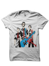 Green Day White T Shirt(China)