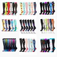 Multi Pairs Compression Socks Men Women Socks Dropship Wholesales Football Golfs Tube Soccer For Varicose Veins Edema Diabete