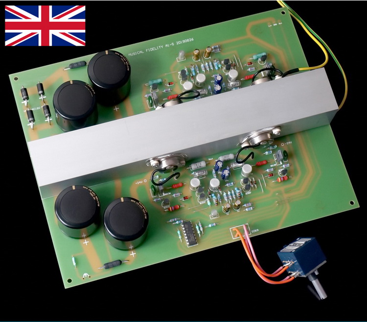 Musical Fidelity Class A Audio Amplifier Board Kit DIY Finished Board Hifi Fever Grade Finished Product